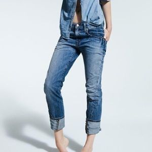 J. Crew Eastwood Boyfriend Distressed Jeans